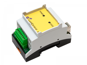 USB Analog Output Module DAC 4 Channel DIN Rail