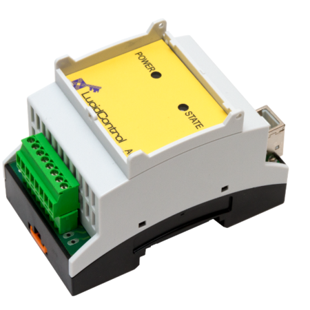 USB Analog Output Module DAC 4 Channel DIN Rail