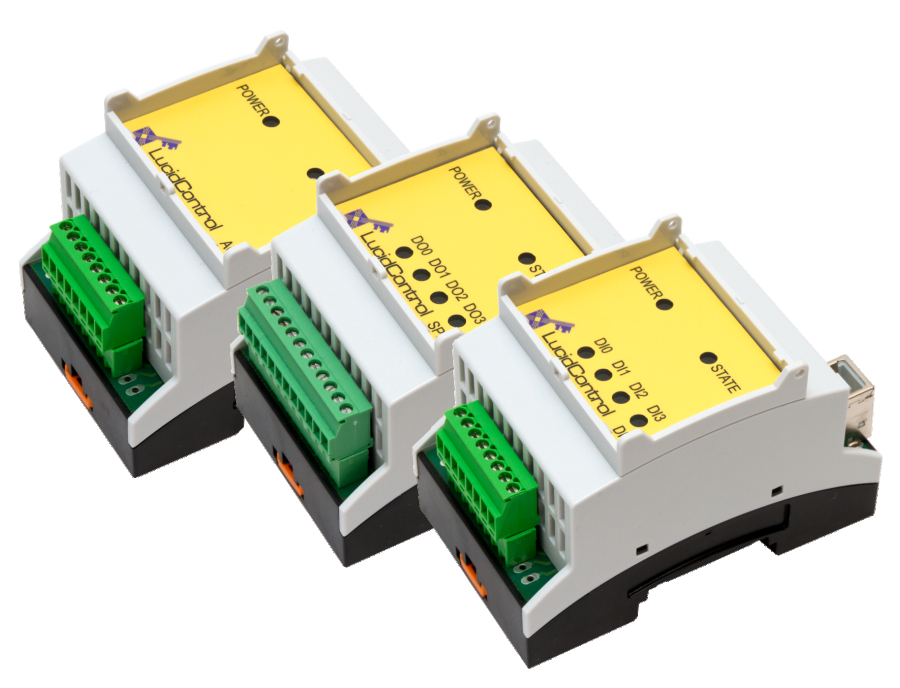 USB IO Modules for Analog and Digital Signals - DIN Rail
