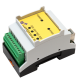 USB Relay Output Module with 4 Channels DIN-Rail