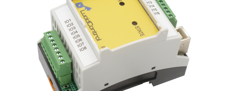 USB RTD Input Module with 8 Channels Pt100/Pt1000 DIN-Rail