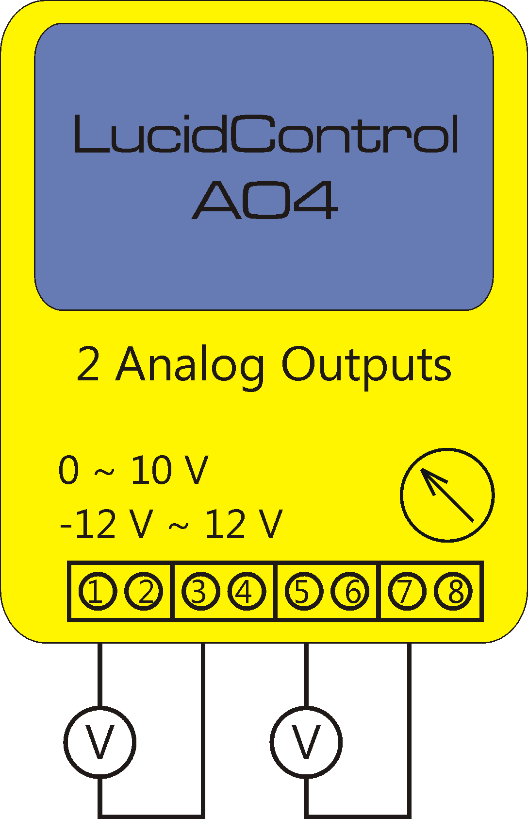 Floating Analog Voltage Outputs