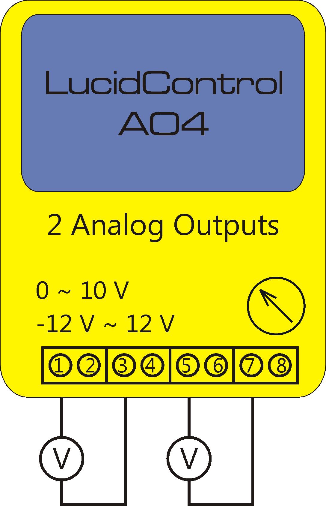 Floating Analog Voltage Outputs