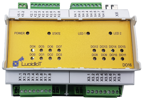 LucidIoT 16 Channel Multi-Protocol IoT Controller for Analog and Digital Signals